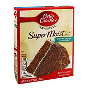 Betty Crocker Super Moist Chocolate Butter Recipe Cake Mix
