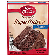 Betty Crocker Super Moist Chocolate Fudge Cake Mix