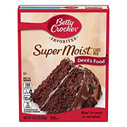 Betty Crocker Super Moist Devil's Food Cake Mix