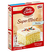 Betty Crocker Super Moist Vanilla Cake Mix