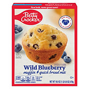 Betty Crocker Wild Blueberry Premium Muffin Mix & Quick Bread Mix