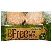 BFree 4 Soft White Bread Rolls