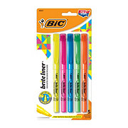 Bic Brite Liner Assorted Highlighters