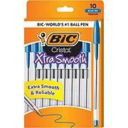 BIC Cristal Xtra Smooth Ball Pen, Blue