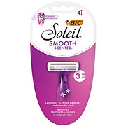 BiC Soleil Twilight Triple Blade for Women Lavender Scented Handles Razors