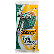 Bic Twin Select Sensitive Skin Shavers For Men