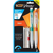 BIC Velocity Max Mechanical Pencil 0.9 Mm, Black