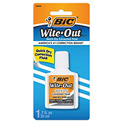 Bic Wite-Out Quick Dry Plus Correction Fluid