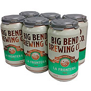 Big Bend La Frontera IPA Beer 12 oz  Cans