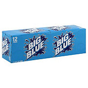 Big Blue Soda 12 oz Cans
