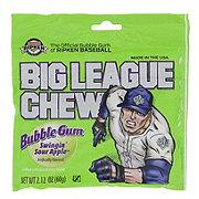 Big League Chew Swingin' Sour Apple Bubbble Gum