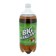 Big Red Big Manzana Apple Soda
