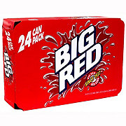 Big Red Soda 12 oz Cans Suitcase