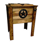 Big Tex Rustic Cooler