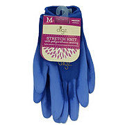 Big Time Products Digz Women's Stretch Knit Garden Gloves with Polyurethane Coating Medium