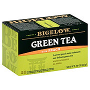 Bigelow Green Tea with Peach Tea Bags