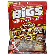 Bigs Sizzlin' Bacon Flavor Sunflower Seeds Re-Sealable Big Bag!