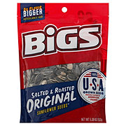 Bigs Sunflower Seeds Original Salted & Roasted Re-Sealable Big Bag!