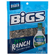 Bigs Zesty Ranch Flavor Sunflower Seeds Re-Sealable Big Bag!