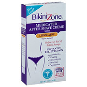 Bikini Zone Medicated Creme Topical Analgesic