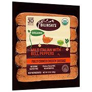 Bilinski's Organic Mild Italian Sausage