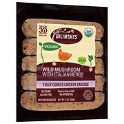 Bilinski's Organic Wild Mushroom Sausage