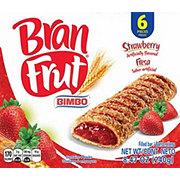 Bimbo Bran Frut Strawberry Filled Bar