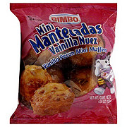 Bimbo Mantecadas Vanilla Pecan Mini Muffins