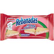 Bimbo Rebanadas Fresa, Strawberry Frosted Toast