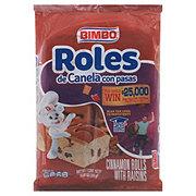 Bimbo Roles De Canela Con Pasas Cinnamon Rolls With Rasins