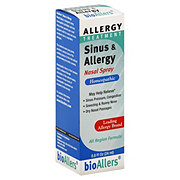 bioAllers Allergy Treatment Sinus & Allergy Nasal Spray All Region Relief