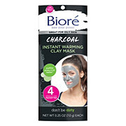 Biore Self Heating One Minute Mask Single Use Packets