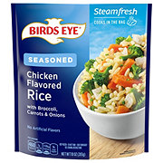 Birds Eye Steamfresh Lightly Seasoned Chicken Flavored Rice