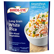 Birds Eye Steamfresh Selects Long Grain White Rice with Mixed Vegetables