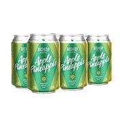 Bishop Cider Apple Pineapple 12 oz Cans