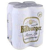 Bitburger Premium Beer 16.9 oz Cans