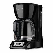 Black Decker 12 Cup Programmable Coffee Maker Select Options For Price Rating Is 0 Stars Out Of 5