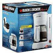 Black Decker Home White 5 Cup Coffeemaker