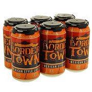Blackwater Draw Border Town Mexican-style Lager Beer 12 oz  Cans
