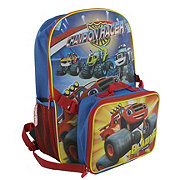 Blaze  &  the Monster Machines Backpack With Lunch Kit