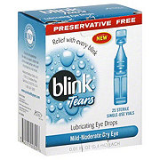 Blink Tears Lubricating Mild-Moderate Dry Eye Drops