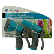 Bloom Plastic Watering Nozzle Kit, Colors May Vary
