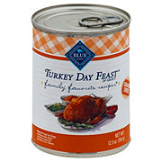 Blue Buffalo BLUE Family Favorites Turkey Day Feast Dog Food