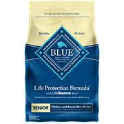Blue Buffalo Chicken & Brown Rice Recipe Senior Dog Food