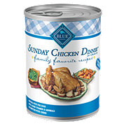 Blue Buffalo Family Favorites Sunday Chicken Dinner Dog Food