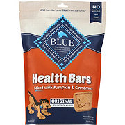 Blue Buffalo Health Bars Pumpkin and Cinnamon Dog Treats