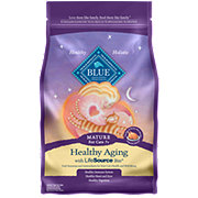 Blue Buffalo Healthy Aging Chicken & Brown Rice Recipe Mature Cat Food
