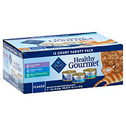 Blue Buffalo Healthy Gourmet Adult Variety Pack Flaked