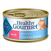 Blue Buffalo Healthy Gourmet Chicken Pate Entree Kitten Food
