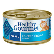 Blue Buffalo Healthy Gourmet Flaked Chicken Entree Cat Food